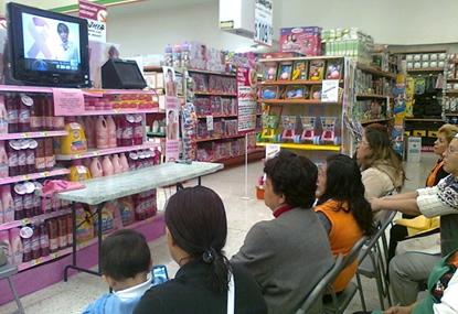 Platicas Cáncer de Mama – Comercial Mexicana 2011