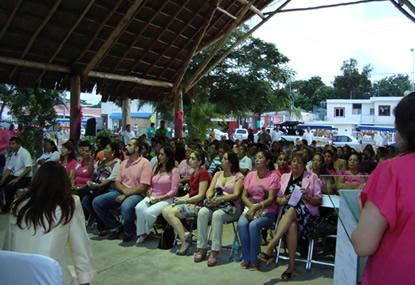 Platicas Cáncer de Mama – Playa del Carmen 2011
