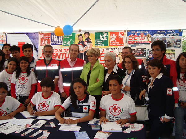 Tlaxcala event to promote the Culture of Organ Donation. Da Vida Foundation, September 2013