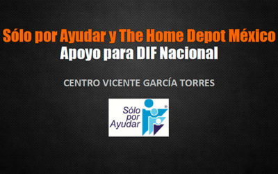 Apoyo a la remodelación del asilo Vicente García Torres del DIF Nacional en alianza con The Home Depot