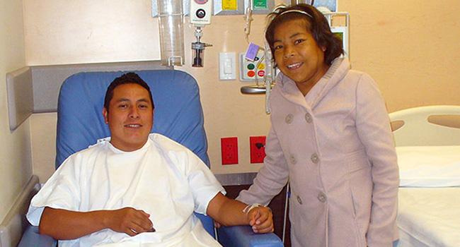 Después de 15 años Celia pudo ser trasplantada gracias al riñón donado por su hermano Benicio. Felicidades a ambos!