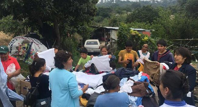 Donación de ropa al Municipio de Tepetlixpa Estado de México, estamos seguros de que será de gran utilidad.