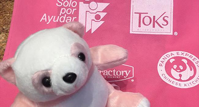 ¡Súmate a la lucha contra el cáncer de mama! ¡Gracias Panda Express!