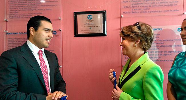 De visita en el Centro Oncológico Internacional (COI) quien ha sido nuestro aliado para poder atender a mujeres con cáncer de mama y de bajos recursos