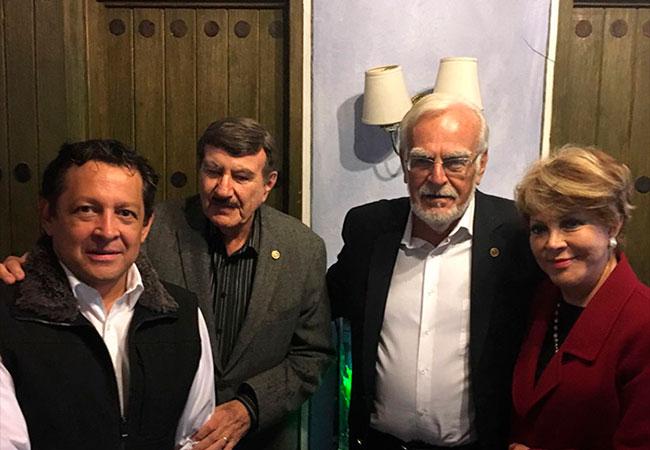 Siempre es un gusto recibir a nuestros amigos aliados de trasplante renal de Rotary Internacional Ignacio Holtz y Donald Kaminsky.