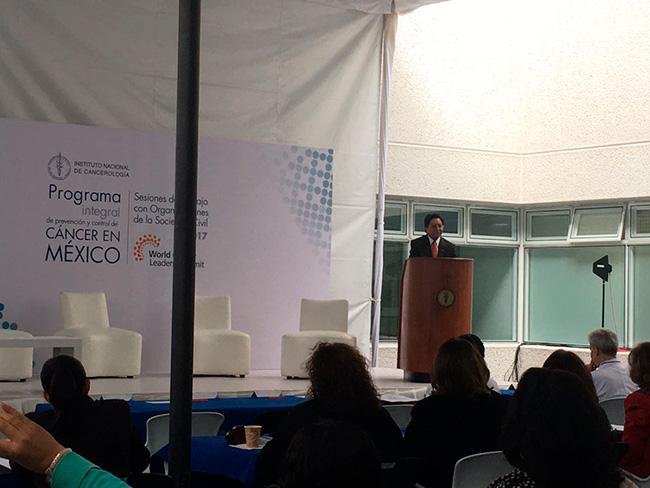 Felicitamos al Instituto Nacional de Cancerología por el programa de prevención y control de cáncer en México, también agradecemos el que nos hagan parte de éste programa.