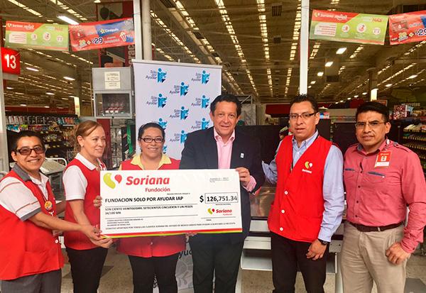 ¡Gracias a todos los clientes y equipo de Soriana por ayudarnos a ayudar!