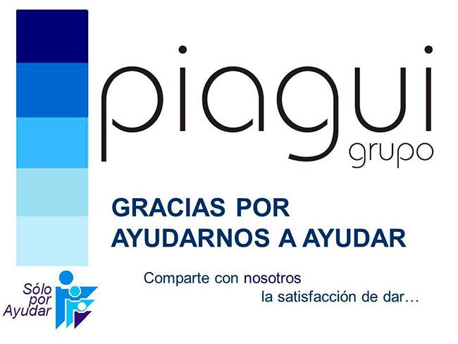 Gracias Grupo Piagui por ayudar en éstos momentos a quienes más lo necesitan.