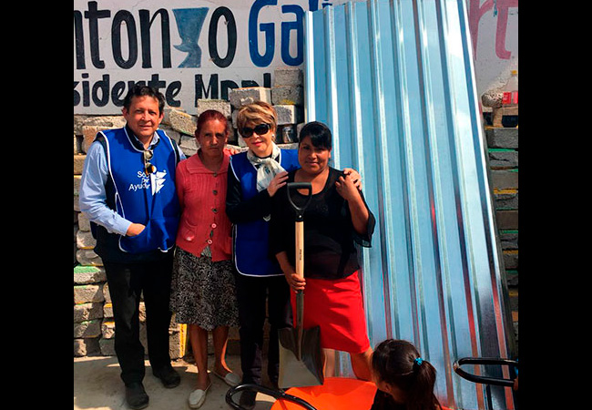 Gracias Bodegas Alianza por ayudar a la gente de Atlautla Estado de México que se vió afectada por los sismos de septiembre.