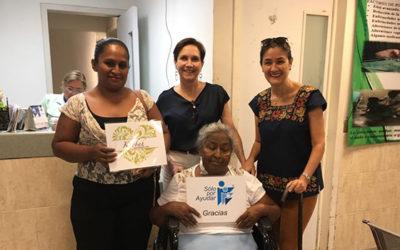 En alianza con Fundación Kaobah entregamos sillas de ruedas a pacientes del Hospital Juan Graham en Villahermosa, Tabasco.