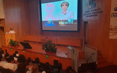 Breast Cancer Talk at the National Institute of Respiratory Diseases – October 31