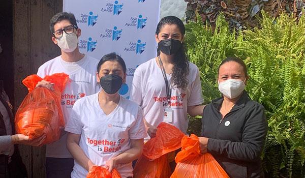 ¡Gracias! A todo el gran equipo de Thomson Reuters México por ayudarnos a ayudar
